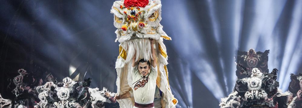 大型民族舞剧《醒·狮》于国家大剧院歌剧院上演