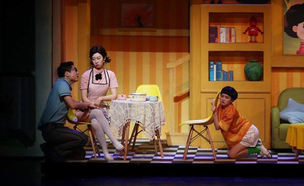 音乐话剧《新大头儿子和小头爸爸》上海首演