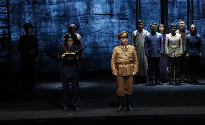 中国共产党成立100周年展演话剧《雨花台》落幕