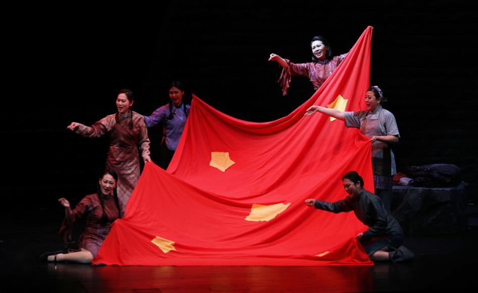 上海歌剧院大型歌剧《江姐》北京演出落幕