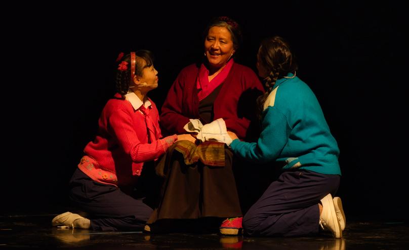 话剧《八廓街北院》展现拉萨民族团结佳话