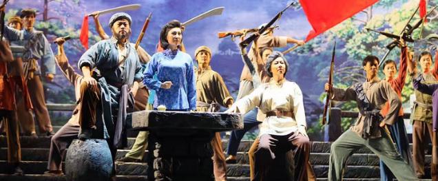 民族歌剧《江姐》8月28日北京天桥艺术中心上演