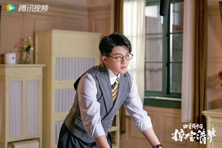 郑斯仁出演《古董局中局之掠宝清单》