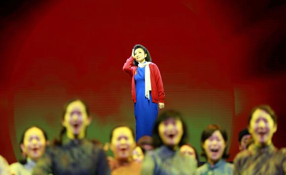 民族歌剧《江姐》天桥艺术中心落幕